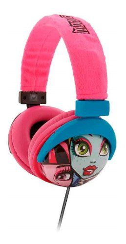 Fone De Ouvido Multikids Headphone Monster High P2 - Ph107