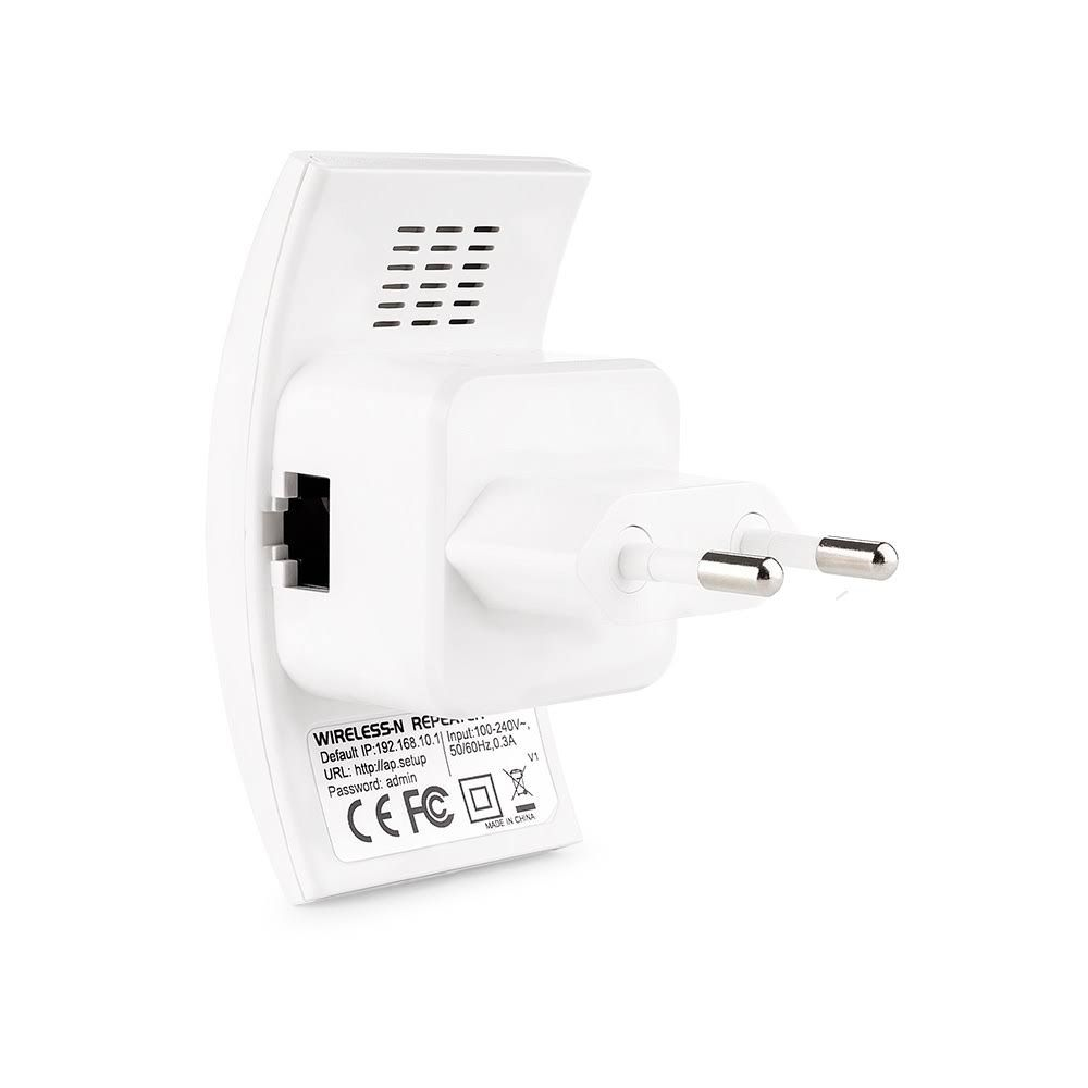 - 2 Repetidores Wireless N 300mbps Bivolt Branco Re055
