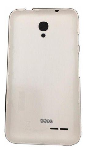 Tampa De Bateria Original Alcatel 4017f (branco E Preto)