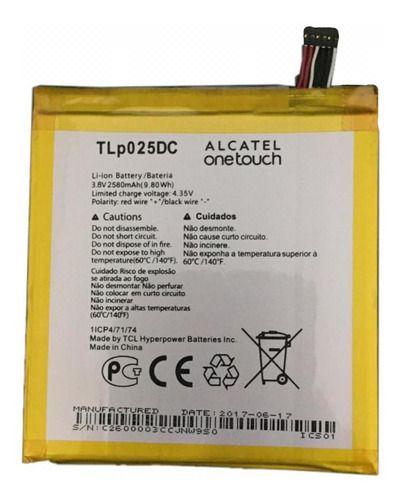Bateria Alcatel A2 Xl (8050j) 4.35 V 2580 Mah - Tlp025dc