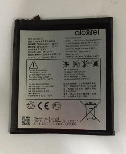 Bateria Alcatel A3 Xl (9008j) 4.40 V 3080 Mah - Tlp030jc