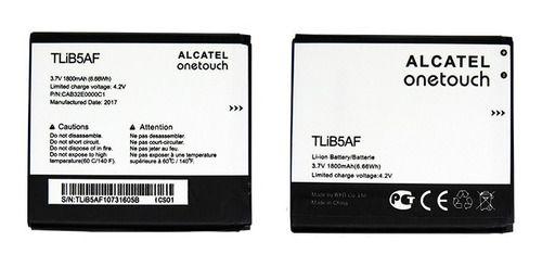 Bateria Alcatel Pop C5 (5037e) 3.7 V 1800 Mah - Tlib5af