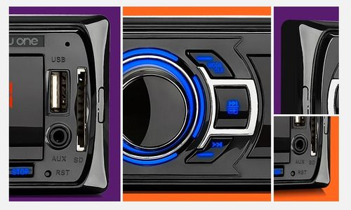Som Auto New One 4 Canais De Áudio Mp3 Player 4x25w P3318