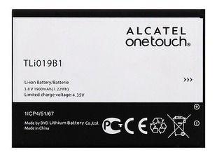 Bateria Alcatel Pixi 4 (5045j) 3.8 V 1900 Mah - Tli019b1