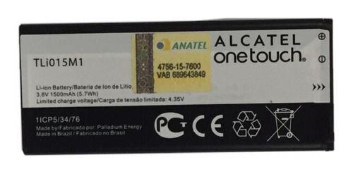 Bateria Alcatel Pixi 4 (4034e) 4.35 V 1500 Mah - Tli015m1