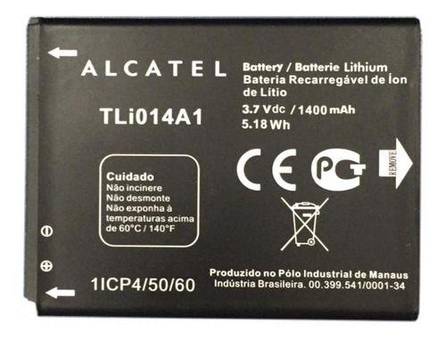 Bateria Alcatel One Touch (5020e) 3.7 V 1400 Mah - Tli014a1