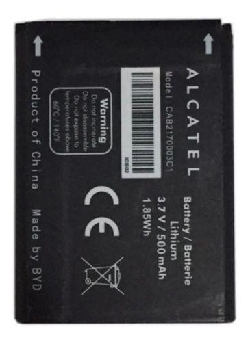 Bateria Alcatel (3000h) 3.7 V 500 Mah - Cab2170003c1