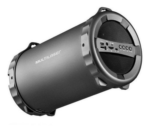 Caixa De Som Bluetooth Multilaser Sd Usb P2 20rms Sp233