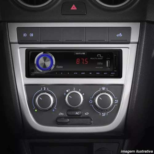 Radio Automotivo Com Leitor Usb-sd - Wave Fiesta - P3265