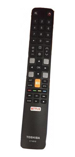 Controle Remoto Semp Toshiba Ct-8518 Com Netflix