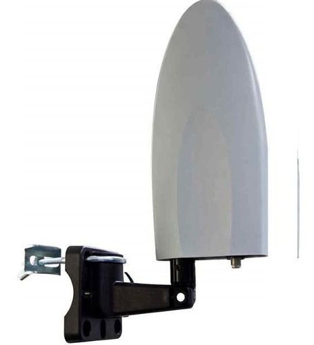 Antena Externa Interna Amplificada Para Tv 4 Em1 - Re214