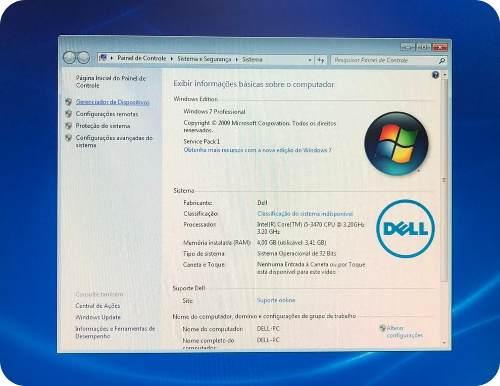 Computador Desktop Dell Optiplex 7010 I5 4gb 256 Gb Ssd