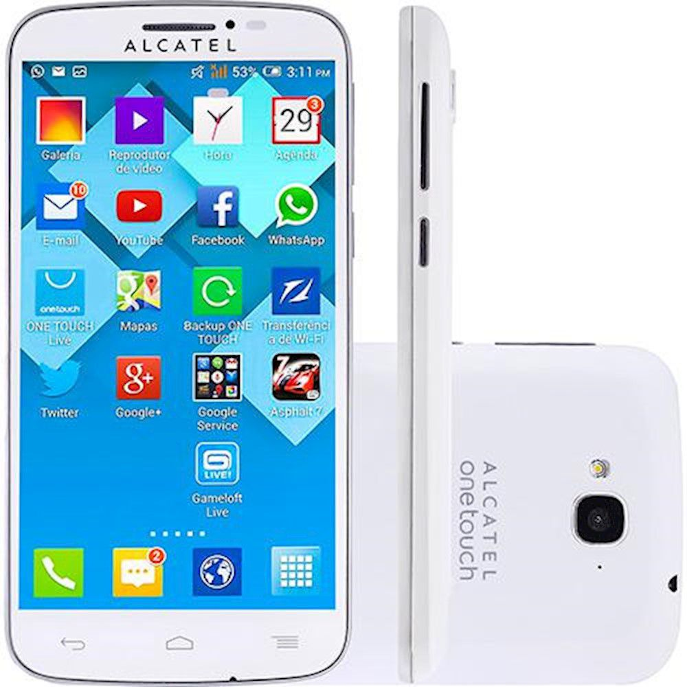 Alcatel Pop C7 7040 Dual Chip Câmera 8gb Tela 5 Memoria 4gb