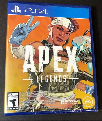 Apex Legends Ed. Lifeline Para Ps4 - Físico Ea Novo Lacrado