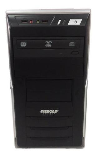 2 Desktop Semi Novo Diebold Processador Core2 Duo 8gb/500gb