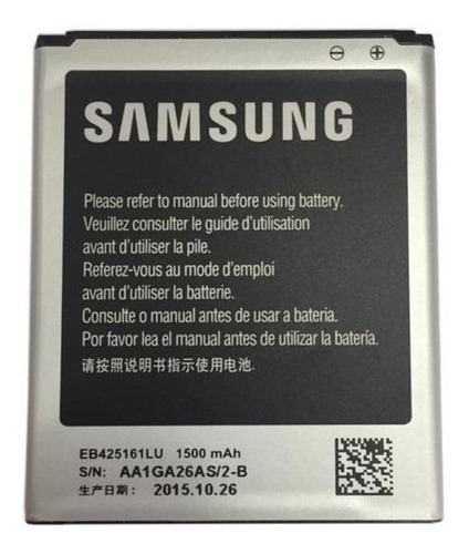 Bateria Galaxy S Duos S7562, Ace 2 I8160, S Duos 2 S7582
