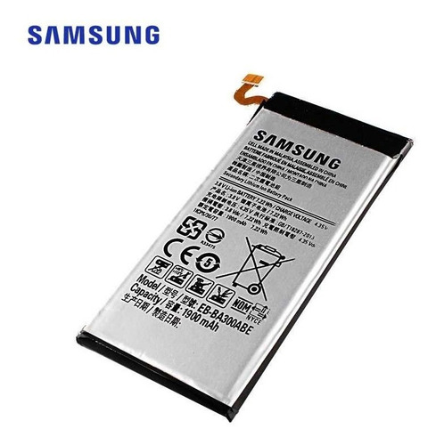 Bateria Samsung Galaxy A3 A300 1900mah Original E Garantia
