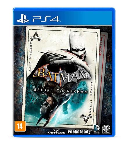 Batman: Return To Arkham. Ps4 Físico Novo Lacrado Original
