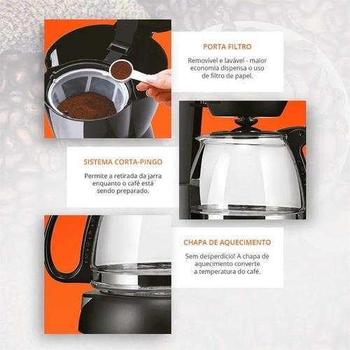 Cafeteira Elétrica Gourmet 127v 200w 15 Xícaras - Be01