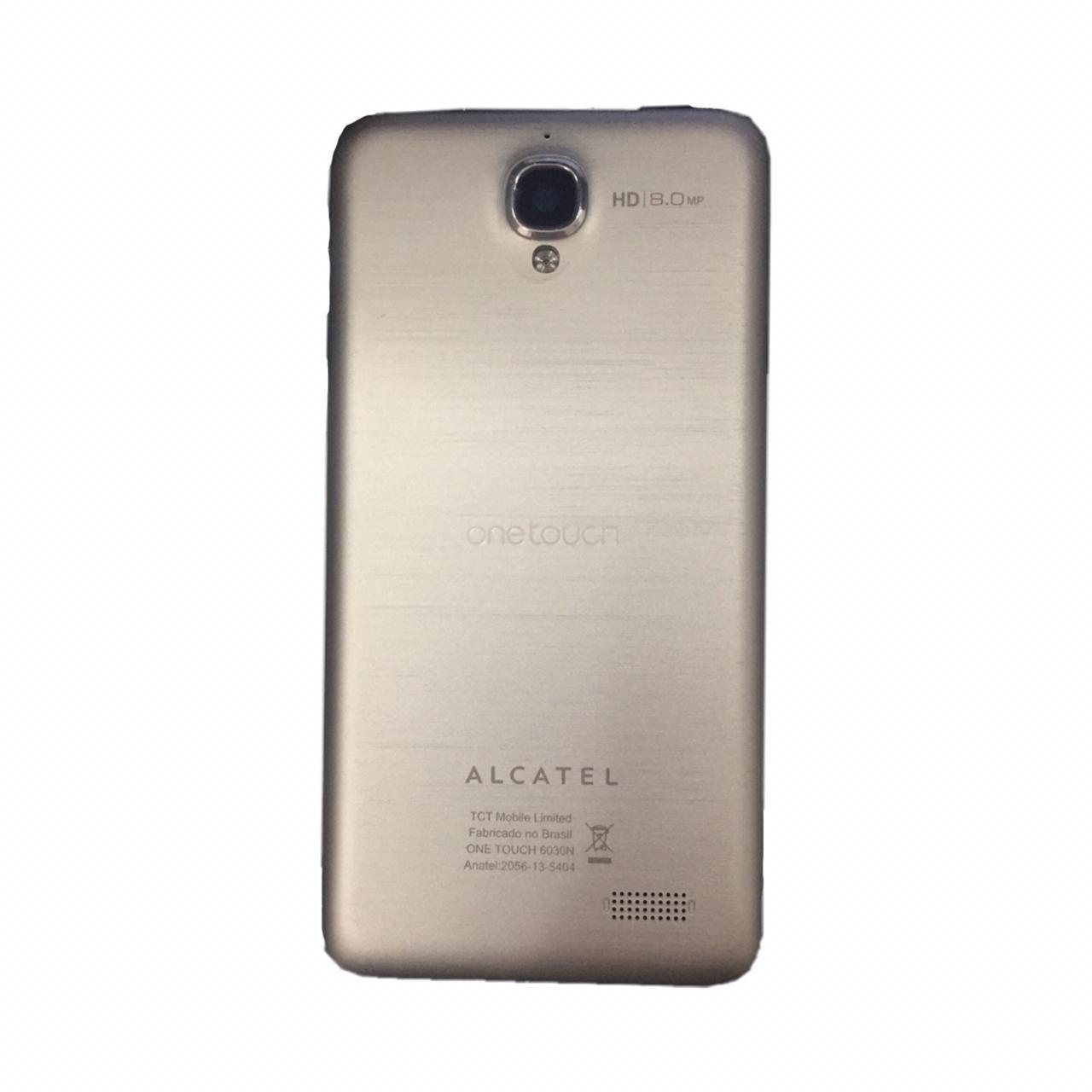 Carcaça Traseira Alcatel OT-6030 Prata