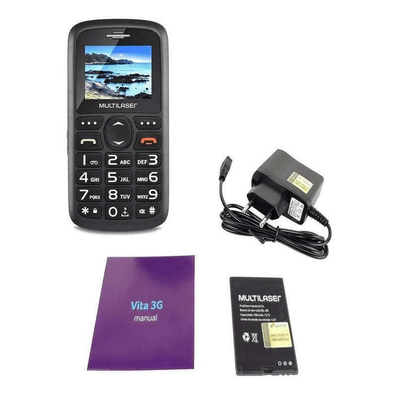 Celular 3g Fácil De Usar Com Teclas Grandes, Botão Sos P9091
