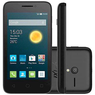Smartphone Alcatel Pixi 3 Tela 3.5 4gb Android 5 Dual Chip Sd 4009e
