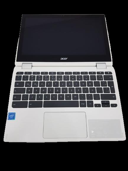 "Chromebook Acer CB5-132T-C9F1, Intel Celeron Quad Core N3150, 4GB RAM, Emmc 32 GB, Emmc 32 GB, tela 11,6"", Chrome OS"