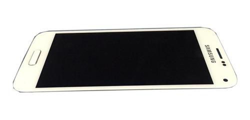 Conjunto Frontal Samsung Galaxy S5 Mini Sm-g800 Branco