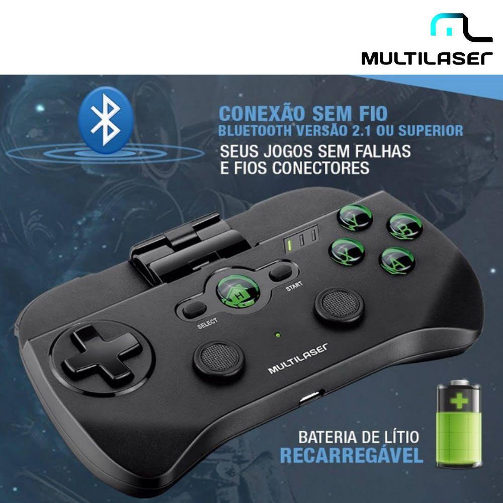 Controle Sem Fio Multilaser Para Smartphone Bluetooth - JS076