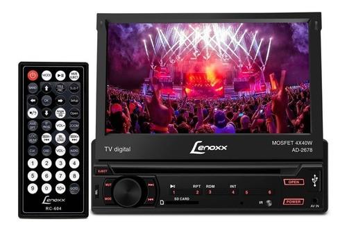 Dvd Player Automotivo Com Tv Digital, Entrada Usb E Rádio Fm