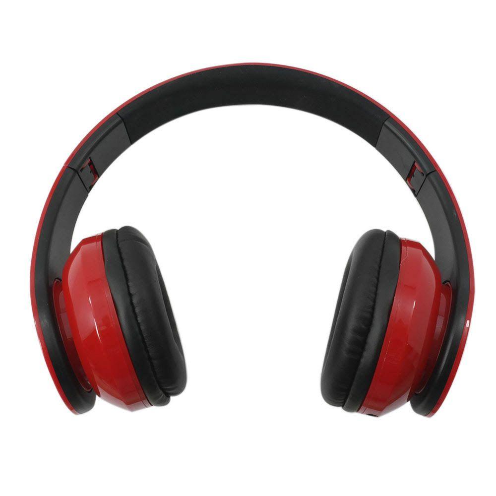 Fone de Ouvido com Microfone para Celular Vermelho e Preto PH112