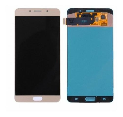 Frontal Original Samsung Galaxy A9 Pro 2016 Dourado Sm-a910f