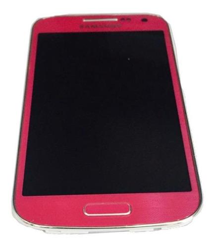 Frontal Original Samsung Galaxy S4 Mini Rosa Gt-i9192