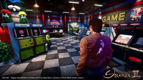 Game Shenmue 3 Ps4 Mídia Física - Novo Lacrado Original