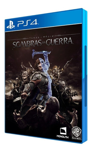 Game Sombras Da Guerra - Ps4 Físico - Novo Lacrado Original