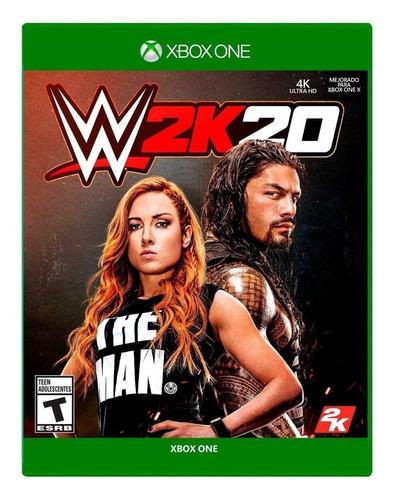Game W2k20 Xbox One Mídia Física - Novo Lacrado Original
