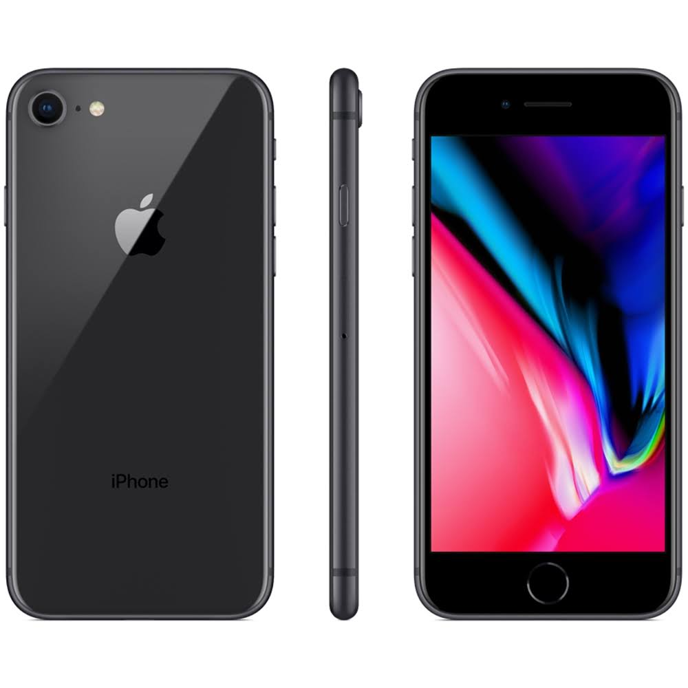 "Apple iPhone 8 64GB 12MP 4G Tela  4.7"" Cinza Espacial"