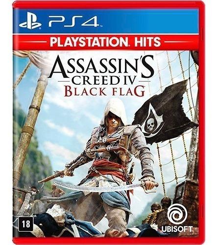 Jogo Original Assassin's Creed Iv Black Flag Ps4 Físico - Novo Lacrado