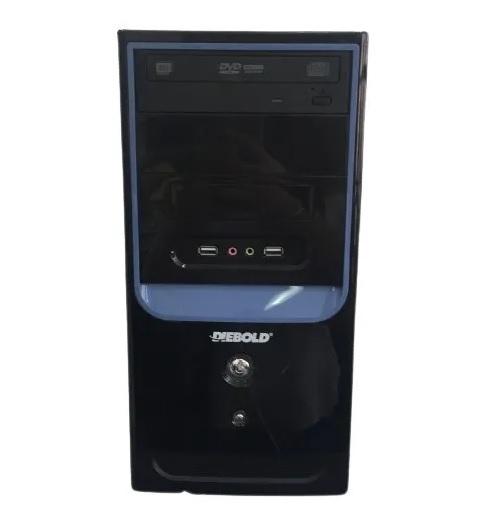 Microcomputador Desktop Diebold I5-650 3.2 GH7 RAM 8GB HD 320gb + 500gb Windows 10 pro