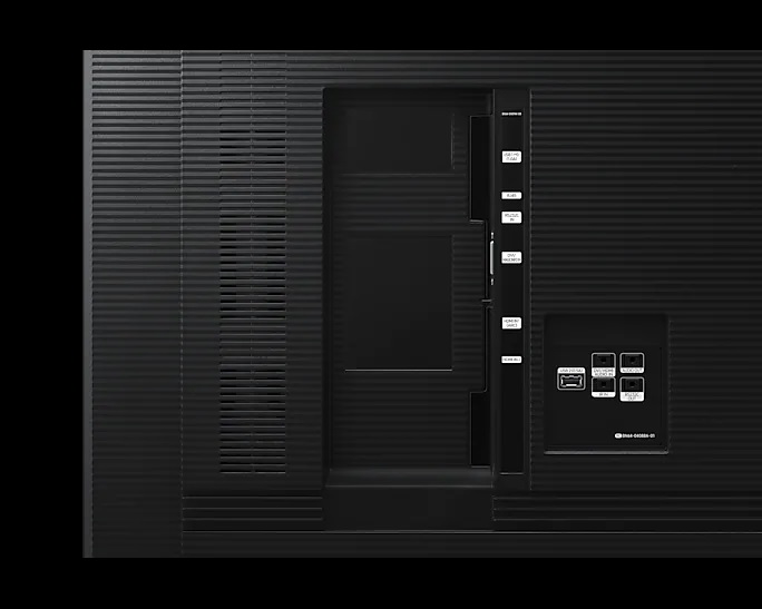 Monitor Profissional Samsung Led 4k 65 Qb65r Lh65qbrebgcxzd
