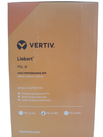 Nobreak Liebert PSL-B 650VA 220v Vertiv - 90 dias de Garantia
