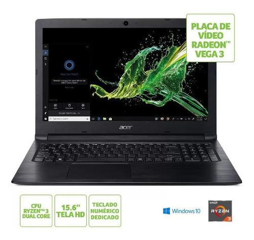 Notebook Acer Aspire 3 Amd Ryzen 3 2200u 8gb/1tb 15.6