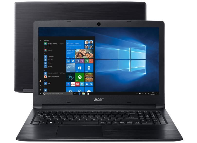 Notebook Acer Aspire 3, Intel Core i5-7200U, 8GB, 1TB, Windows 10 Home, 15.6´ - A315-53-52ZZ