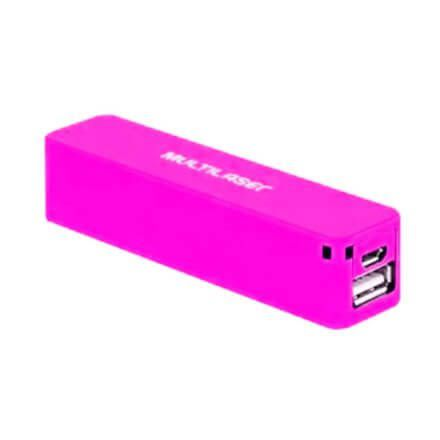 POWER BANK 2200 MAH ROSA CB078