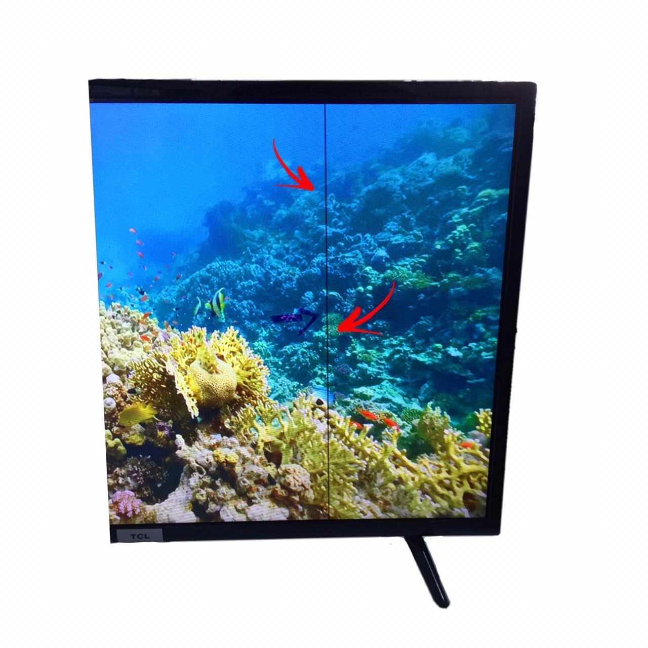 "Smart TV LED 32"" SEMP TCL 32S6500 Android Wi-Fi - HDR Inteligência Artificial 2 HDMI USB (possui linha de led na vertical)"