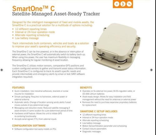 Smartone C - Rastreador Satelital De Ativos Globalstar