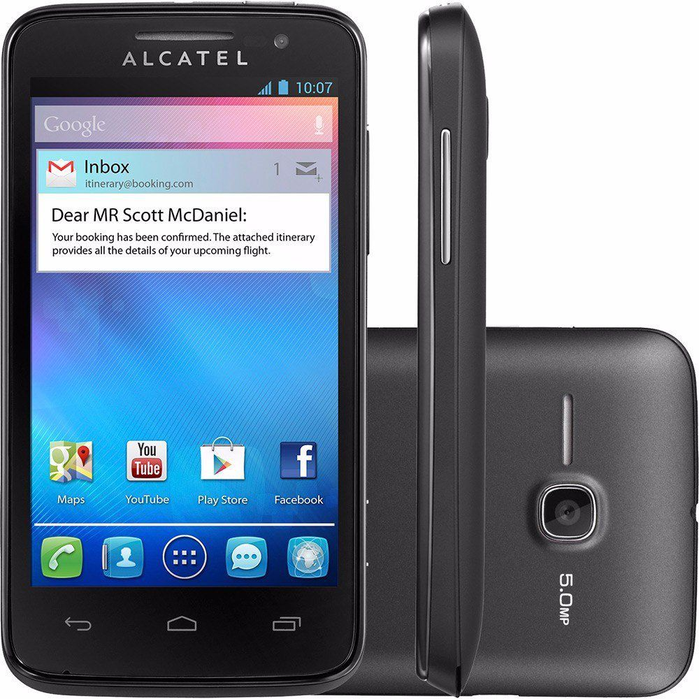 Smartphone Alcatel M Pop 4 Dual 5mp Android 4.1 3g Ot-5020