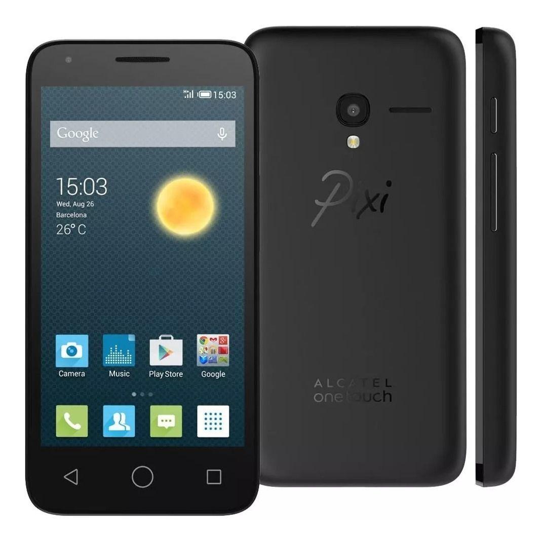 Smartphone Alcatel Pixi 3 4.5 4g Ot5017a Desbloq 1gb Ram