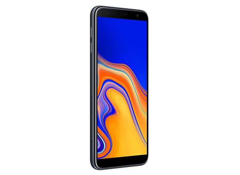 """Smartphone Samsung Galaxy J6+ (SM-G610) 32GB Dual Chip Android Tela Infinita 6"""" Quad-Core 1.4GHz 4G Câmera 13 + 5MP (Traseira) - Preto - 90 dias de Garantia"""