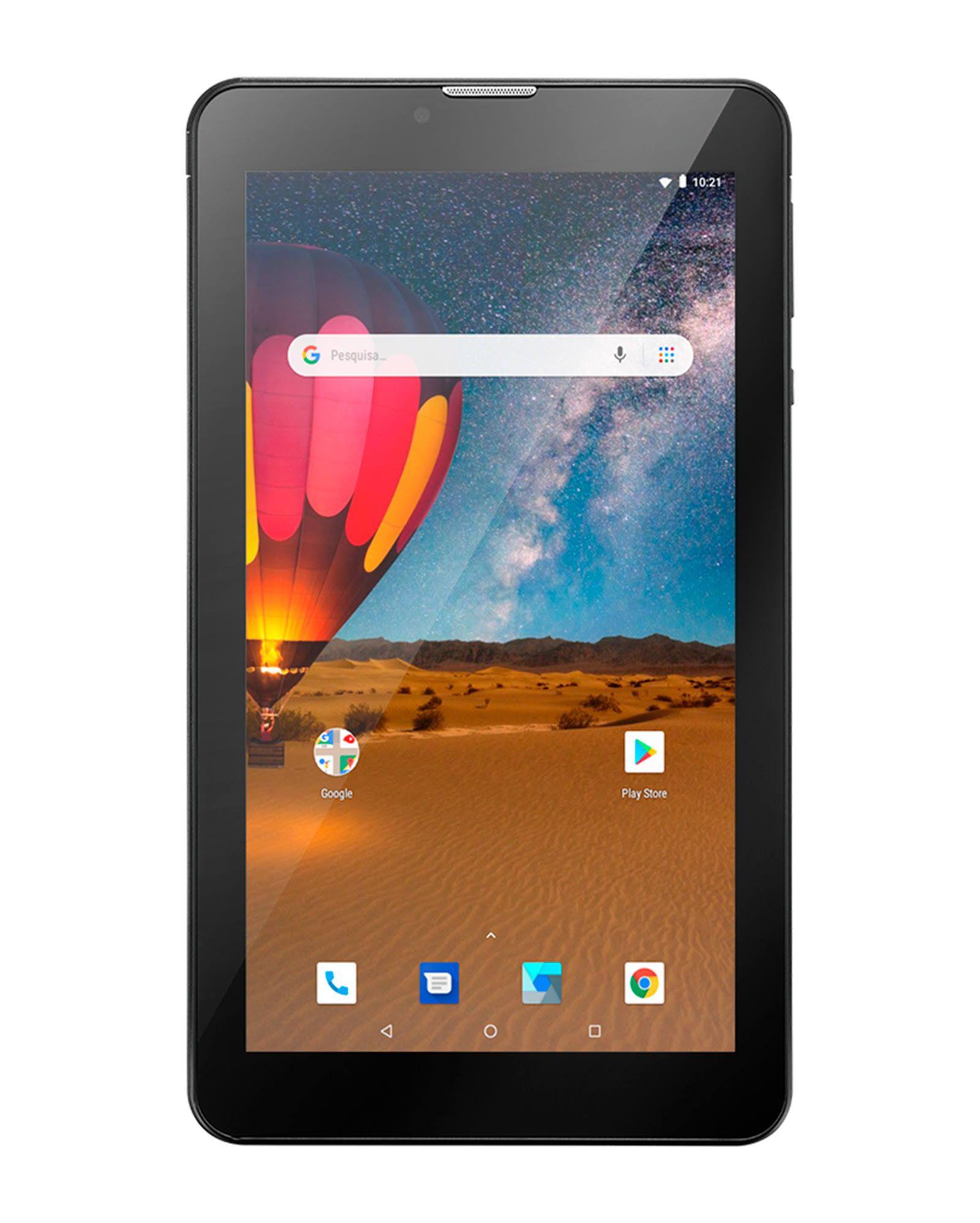 Tablet Multilaser M7 3g Plus Dual Chip Quad Core 1gb 16gb Tela 7 Pol 304/305/306